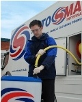 29 year old Dene Cummings is the new Autosmart franchisee for Crawley.