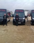 Trio set out in shiny new Mac Tools vans
