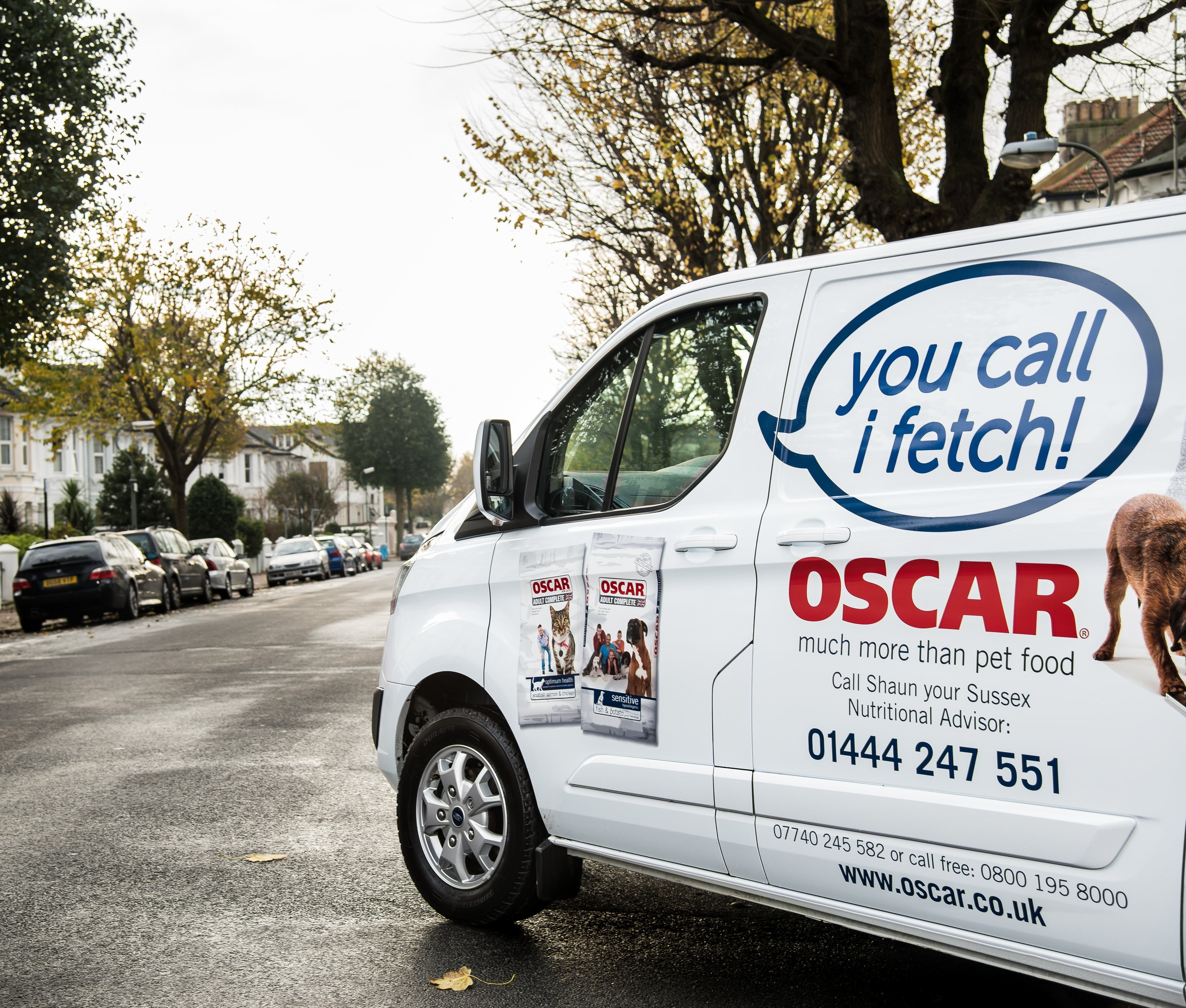 OSCAR Franchise | Pet Food Delivery Business
