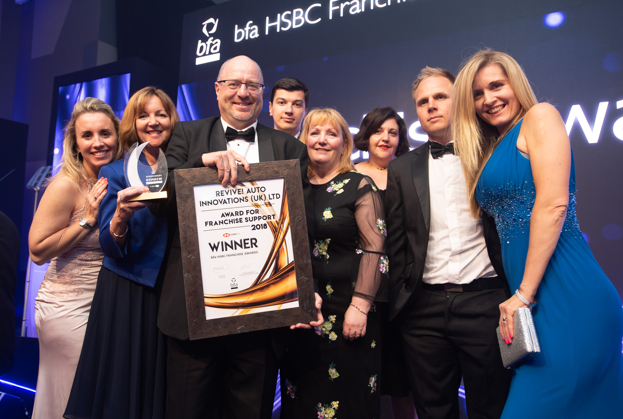 Revive! | bfa HSBC Franchise Award for Franchise Support