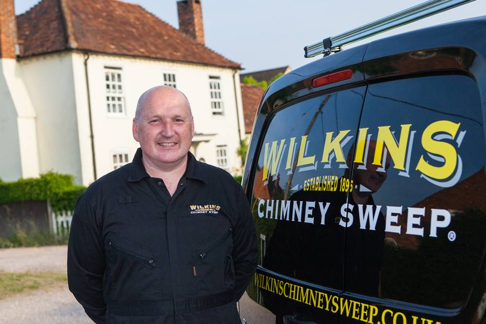 Wilkins Chimney Sweep Franchise | Van-based Chimney Business