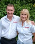 Presenting Neil and Lorraine Stapleton who have been with Oscar Pet Foods for 16 years
