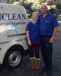 Dean and Amy Wilson Are Cooking On Gas With Ovenclean!