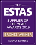 Agency Express Wins Supplier Award at the 2019 ESTAS