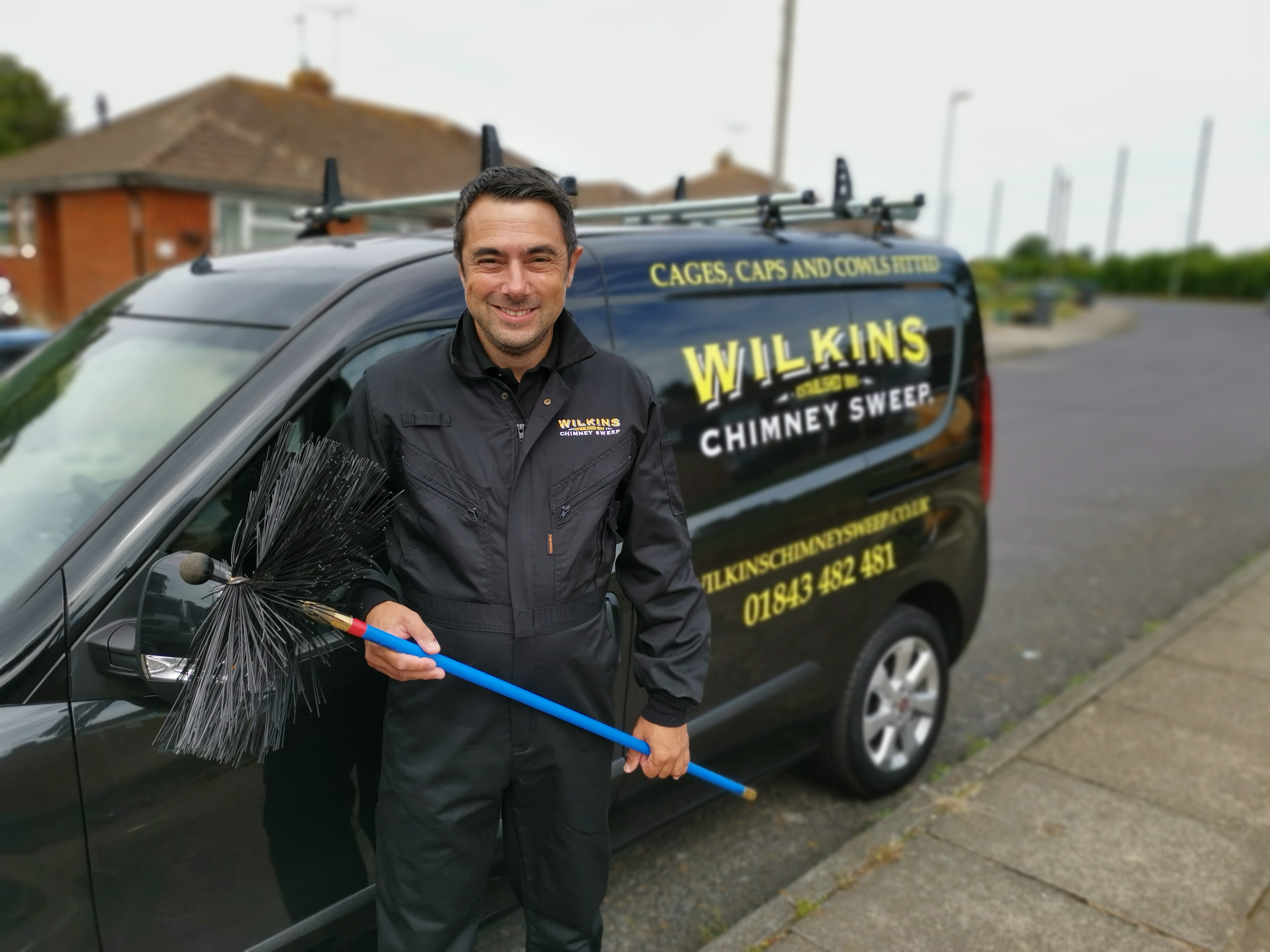 Wilkins Chimney Sweep welcomes new franchisee during COVID